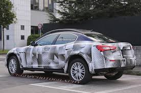 maserati suv report maserati won u0027t build suv smaller than levante