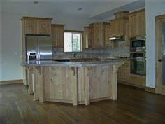 Alderwood Kitchen Cabinets rustic kitchen tile backsplash with natural alderwood cabinets