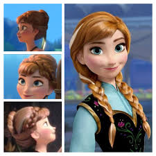 anna from frozen hairstyle anna hair frozen hair styles pinterest anna hair frozen