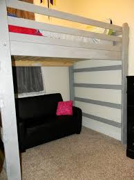 Diy Bunk Bed With Desk Under by Best 25 Queen Loft Beds Ideas On Pinterest Loft Bed King