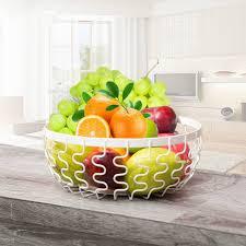 fourniture de cuisine métal fer corbeille de fruits rack fournitures de cuisine plateau