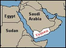 where is yemen on the map where did the wise come from