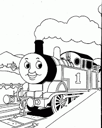 thomas train clipart black and white clipartxtras