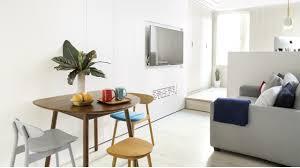 Hong Kong Interior Designer Creates Timeless Micro Apartment For - Apartment interior designer