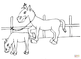 two little ponies coloring page free printable coloring pages