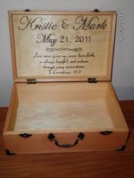 wedding keepsake quotes wedding time capsule memory keepsake card box wood burned