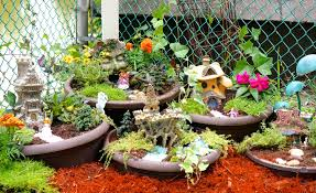 how to make a diy fairy garden youtube
