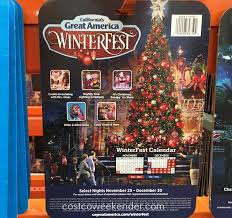 costco halloween decorations california u0027s great america winterfest 2016 general admisssion