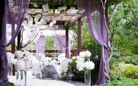 purple and white wedding white and purple wedding