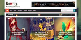 55 best responsive blogger templates weelii