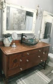 Antique Looking Vanity Bathrooms Design French Chic Vanity Bathroom Antique Style Unit
