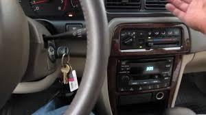 Nissan Altima Interior 2016 - 2000 nissan altima cabin filter youtube