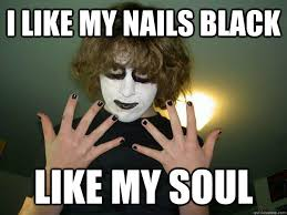 I Feel It Meme Black Kid - why black is the best colour even though they say it s not a colour