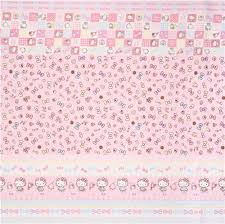 hello ribbon pink hello stripes ribbon jewelry oxford fabric by sanrio