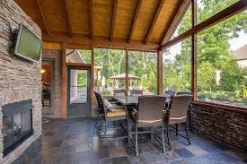 craftsman porch with screened porch u0026 transom window in mount
