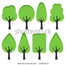 simple tree silhouette stock images royalty free images vectors