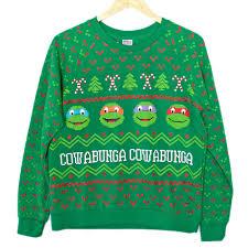 tmnt mutant turtles tacky sweatshirt