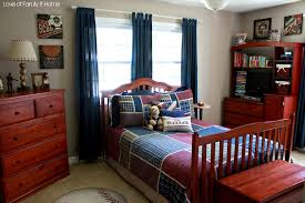 red and blue bedroom amazing image of red and blue sport theme kid bedroom decoration