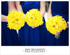 Wedding Flowers Blue Blue And Yellow Wedding Flowers Wedding Invitations Which