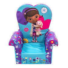 Doc Mcstuffins Flip Open Sofa Chair Armchair Kids Toddler Upholstered Furniture Disney Doc