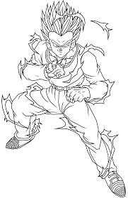 dragon ball coloring featuring gohan hercule satan xd