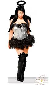Angel Costume Halloween 4 Pc Sequin Dark Angel Costume Amiclubwear Costume Store