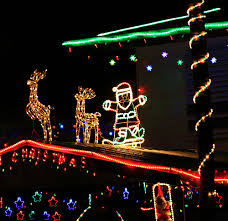tips for photographing christmas lights night decorations slr