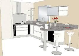plan de cuisine avec ilot central plan de cuisine avec ilot central des photos et beau bar