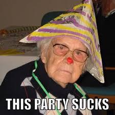Grumpy Old Lady Meme - 3bc79fc400000578 4082128 image a 21 1483375915248 jpg 634纓637