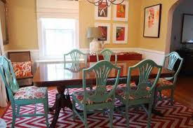 Aqua Dining Room Painted Aqua Dining Room Chairs Best Dining Room Chairs Gallery