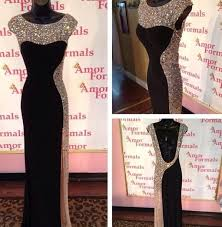 tall black dresses all pictures top
