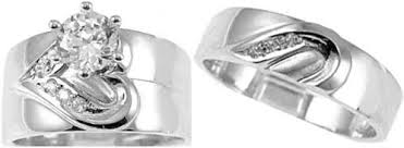 Trio Wedding Ring Sets by Trio Wedding Ring Sets July 2012