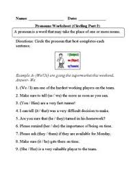 they or them personal pronouns worksheet englishlinx com board