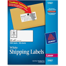 avery 5163 easy peel white shipping labels permanent adhesive 2