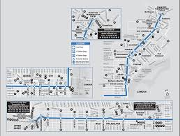 Septa Regional Rail Map Septa Market Frankford Line Map Effective As Of August 2014 A