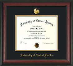 degree frames of central florida diploma frames ba ma and phd