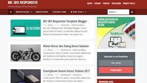 mc seo responsive blogger templates u2013 blogger template download