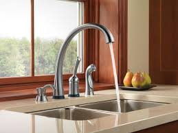 Delta Kitchen Faucet Touch by Faucet Com 4380t Ar Dst In Arctic Stainless By Delta