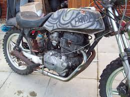 honda 250 honda 250 superdream t reg ratbike street scrambler field bike