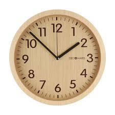 wall clock modern modern wooden silent wall clock decomates