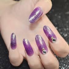 online get cheap long fake purple nails aliexpress com alibaba