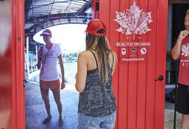 Red Door Canadian Tire U0027s Red Door To Rio Links Olympic Athletes Fans
