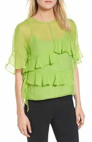 green silk blouse s green blouses tops tees nordstrom