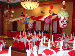 carnival or circus theme decor party centerpiece pinterest
