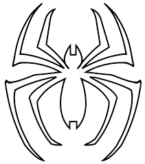 web clipart spiderman logo pencil and in color web clipart