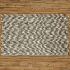 Jute Area Rug Birch Sibley Woven Olive White Jute Area Rug Reviews