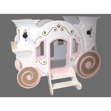 Cottage Loft Bed Plans by Cinderella Carriage Bunk Bed For The Home Pinterest