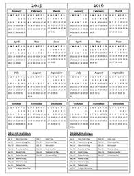 2015 calendar template printable pdf word image calendar