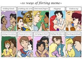 Meme Disney Princesses - flirting meme disney style by bryngoesrawr on deviantart