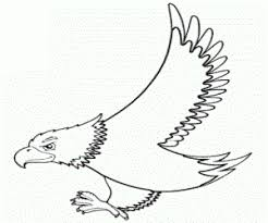free printable eagle coloring pages ideas for preschool
